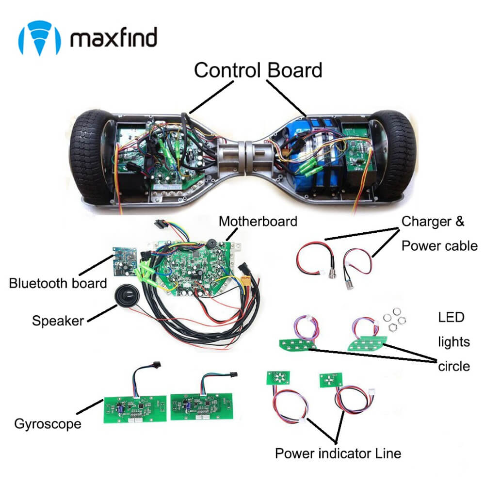 Two Wheel Self Balancing Scooter Parts Motherboard Control